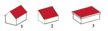 Gartenhaus Dachformen