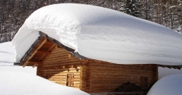 Gartenhaus Material Holzhütte Schneedach Material Holz