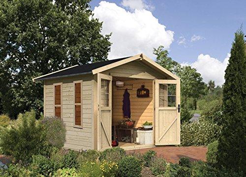 Gartenhaus kaufen - welches Material
