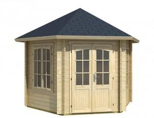 Gartenhaus Dachform Zeltdach