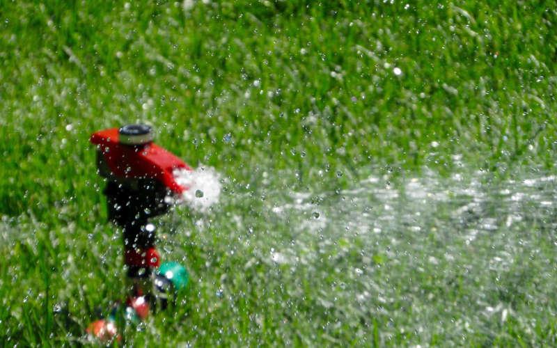 Gartenpumpe - Sprinkler