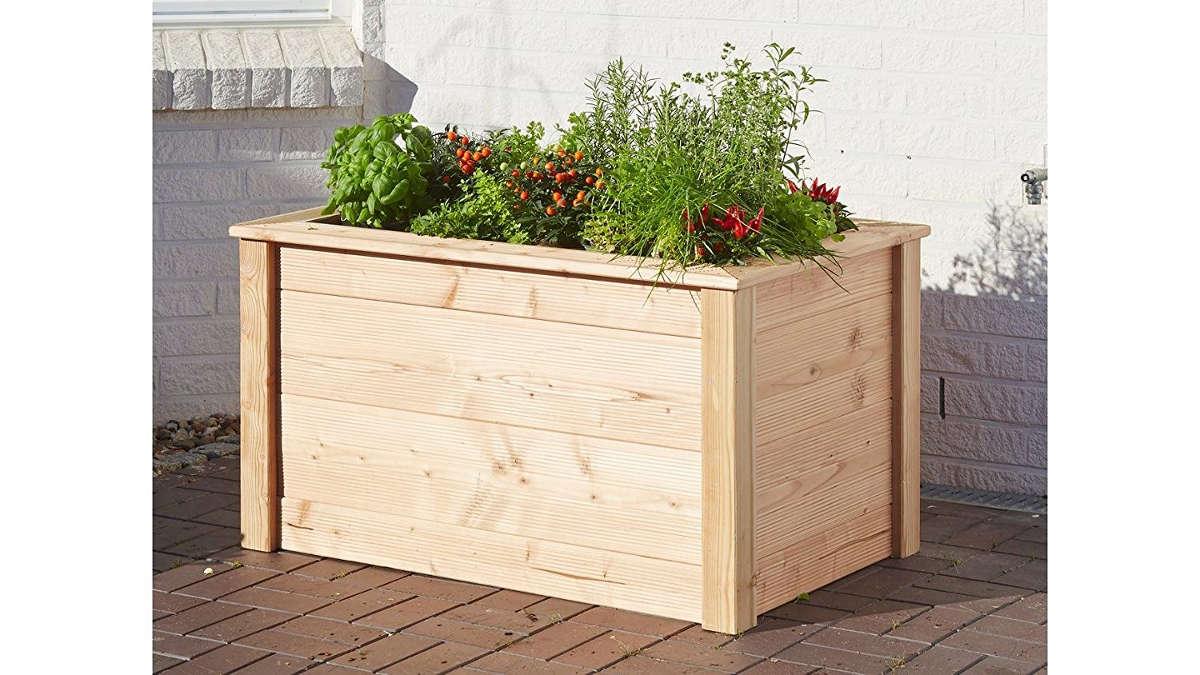 hochbeet kaufen ideal zum gartenhaus urban gardening. Black Bedroom Furniture Sets. Home Design Ideas