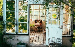 Gartenhaus modern - Rückzugsort