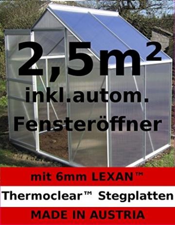 Gewächshaus Kunststoff ASS 131 x 190