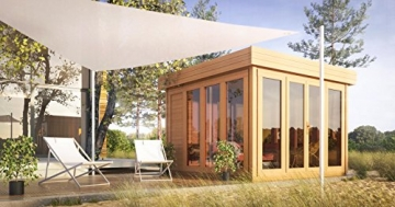 Gartenhaus Holz Sonneninsel 350 x 370 cm