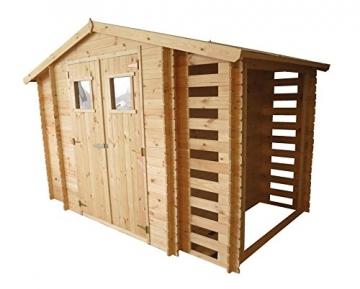 gartenhaus eisenstadt 312 x 200 cm inkl kaminholzlager. Black Bedroom Furniture Sets. Home Design Ideas