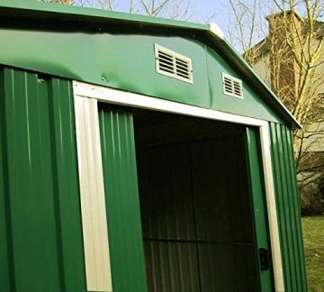 Gartenhaus Metall ASS 290 x 290 cm