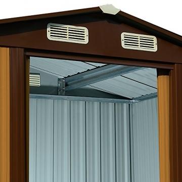 Gartenhaus Deuba Metall 210 x 132 cm