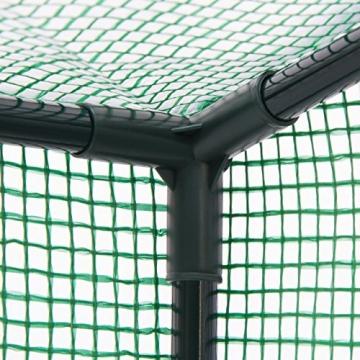gew chshaus folie relaxdays 150 x 100 cm perfekt f r balkon. Black Bedroom Furniture Sets. Home Design Ideas