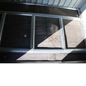 Metall Gerätehaus XL Svita 213 x 127 cm