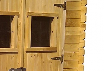Gartenhaus Holz Salzburg 180 x 130 cm