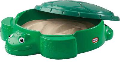 Kunststoffsandkasten mit Deckel Tierform Schildkröte