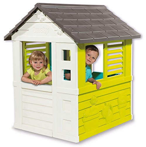 spielhaus smoby pretty haus kinderspielhaus top preis. Black Bedroom Furniture Sets. Home Design Ideas