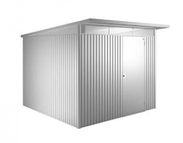 Biohort Gerätehaus Avantgarde 260 x 300 cm silber -