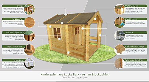 Kinderspielhaus Steiner Shopping 175 x 130 cm