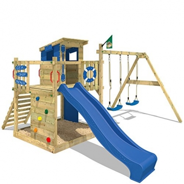 Wickey Spielhaus Smart Camp mit Sandkasten