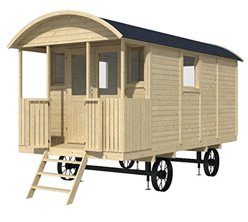 gartenhaus bauwagen l wenzahn 240 x 500 cm hingucker. Black Bedroom Furniture Sets. Home Design Ideas