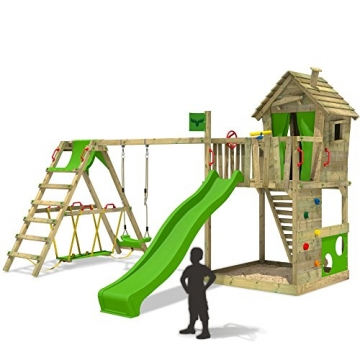 Spielturm Fatmoose HappyHome Hot XXL