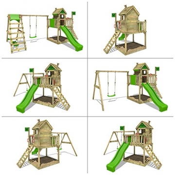 Spielturm Fatmoose RockyRanch Roll XXL