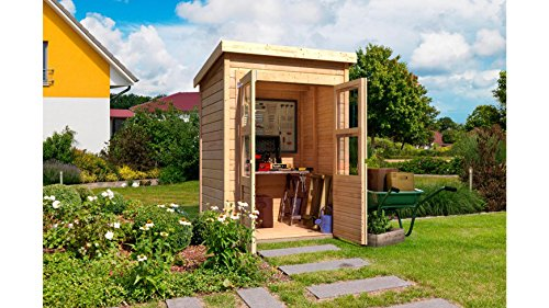 gartenhaus karibu grimsby 1 152 x 124 cm top ger tehaus. Black Bedroom Furniture Sets. Home Design Ideas