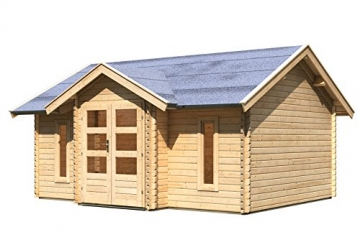 Gartenhaus Nordland Karibu 507 x 401 cm