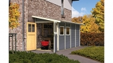 Gartenhaus Wandlitz Karibu 181 x 352 cm