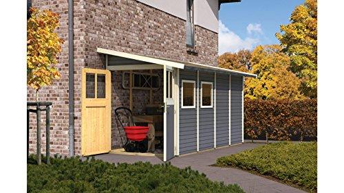 gartenhaus wandlitz karibu 181 x 352 cm top ger tehaus. Black Bedroom Furniture Sets. Home Design Ideas