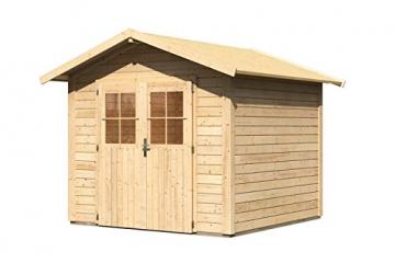 Gartenhaus Karibu Woodfeeling Linau 4