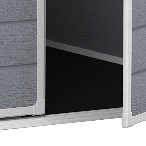 gartenhaus keter manor 65dd stabiles ger tehaus top. Black Bedroom Furniture Sets. Home Design Ideas