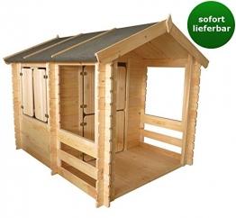 Spielhaus Holz 175 x 130 cm
