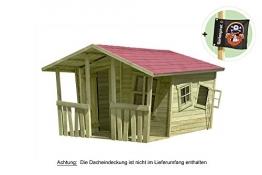 Spielhaus Lisa-Fun Holz 207 x 200 cm Gartenpirat