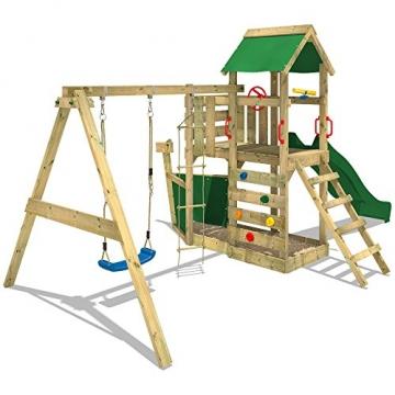 Wickey Spielturm SeaFlyer grün