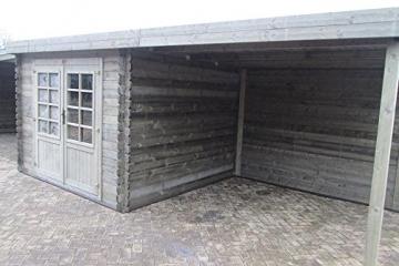 Blockhütte Fonteyn Karina 575 x 266 cm