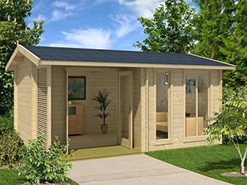Gartenhaus 2 Räume Holz Brighton 44