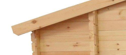 Gartenhaus Graz 256 x 200 cm Holz