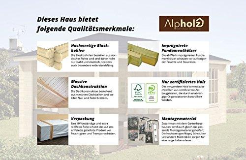 Gartenhaus Evere Alpholz