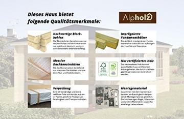 Gartenhaus Alpholz 225 x 210 cm