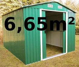 Gartenhaus ASS 257x259cm
