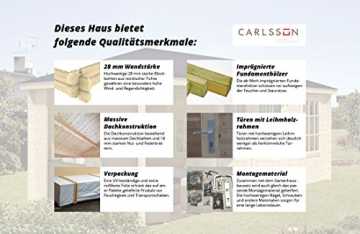 Gartenhaus Maria-28 Carlsson