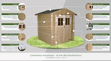 Gartenhaus Amstetten 206 x 206 cm Steiner Shopping