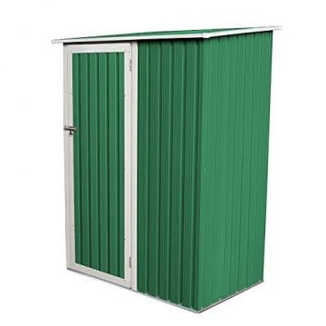 SVITA Geräteschrank Metall grün