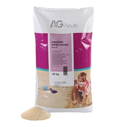 Spielsand 25kg für Sandkasten A&G-heute