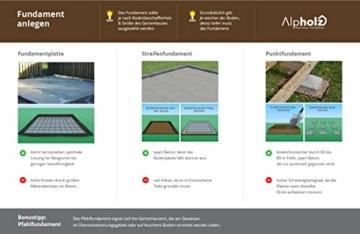 Alpholz Gartenhaus EUPEN 390 x 300 cm