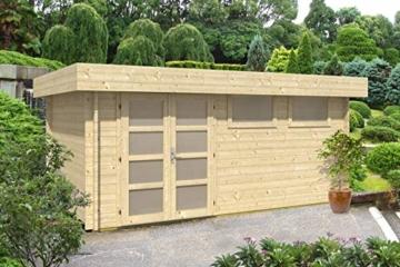 CARLSSON Gartenhaus Kyara 44 mm 500 x 298 cm