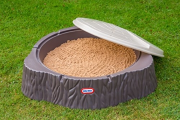 Little Tikes Sandkasten mit Deckel als Baumstamm
