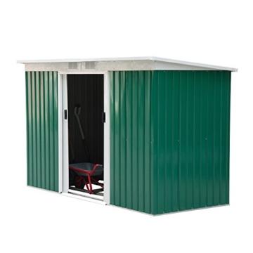 Outsunny Gerätehaus grün