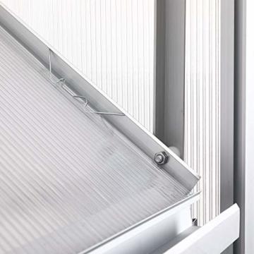 Zelsius Aluminium Gewächshaus 190 x 250 cm